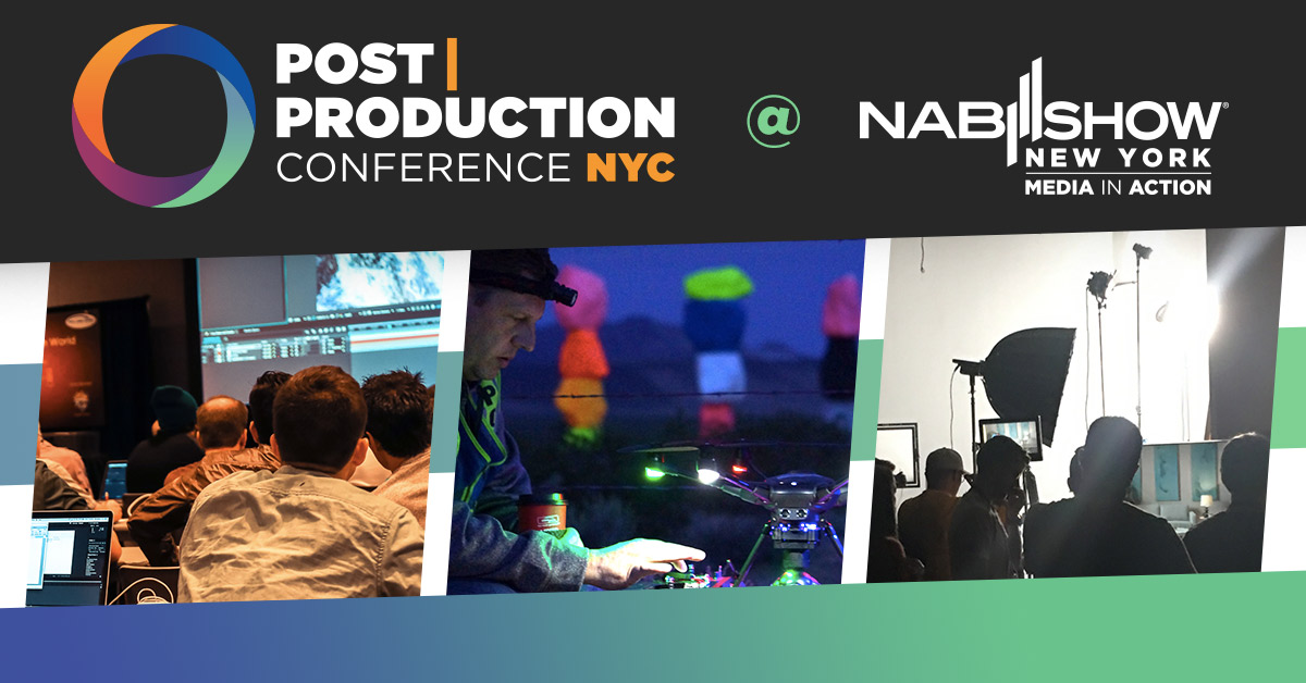 Post|Production World at NABShow NYC
