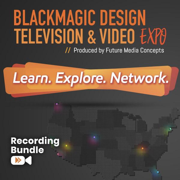 Recording Bundle - Blackmagic Design Television & Video Expo