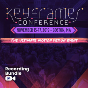 Recording Bundle - Keyframes Conference Boston
