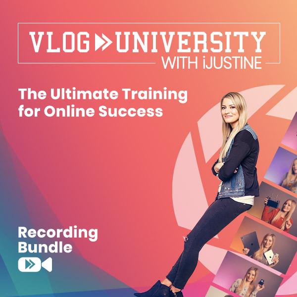 Recording Bundle - Vlog University with iJustine