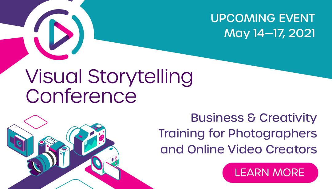 Upcoming Event - Visual Storytelling Conference - Learn More