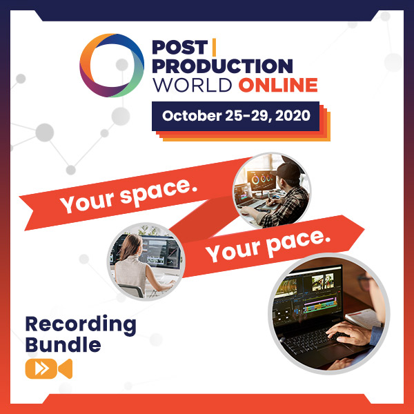 Recording Bundle - Post|Production World Online (Fall 2020)