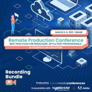 Recording Bundle - Remote Production Conference 2021