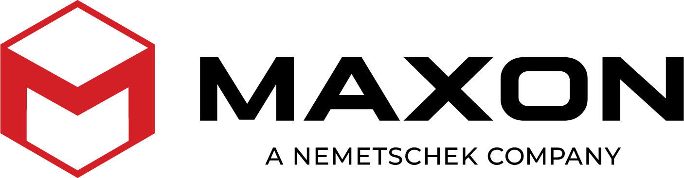 Maxon - A Nemetschek Company logo